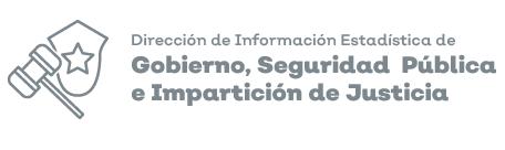 Icono de la dirección de información estadística de Gobierno, Seguridad pública e impartición de justicia.
