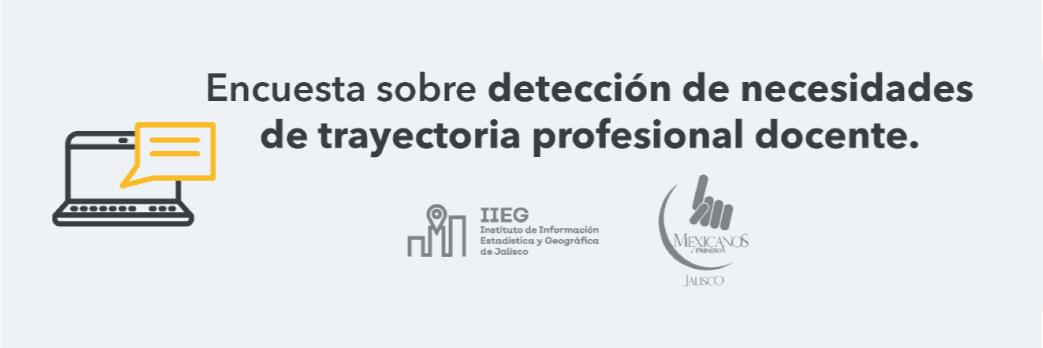 Encuesta sobre detección de necesidades de trayectoria profesional docente