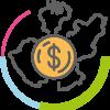 icono mapa económico