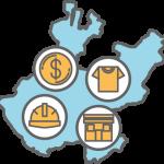 icono Sectores estratégicos de Jalisco