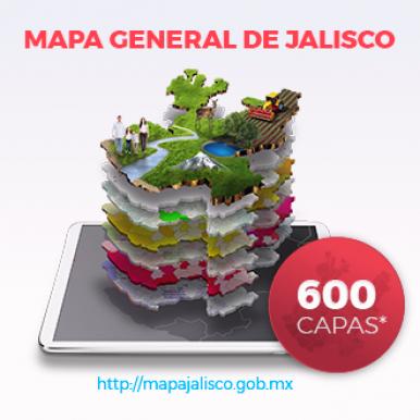 Mapa General de Jalisco 2017