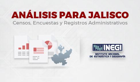 Análisis para Jalisco de productos INEGI