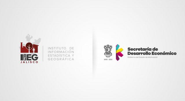 Firman acuerdo IIEG Jalisco y Sedeco Michoacán