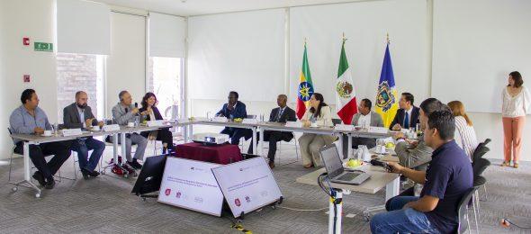 La visita técnica fue organizada por Banco Mundial con el objetivo de conocer las buenas prácticas en materia de información en México, incluyendo a CONEVAL e INEGI.