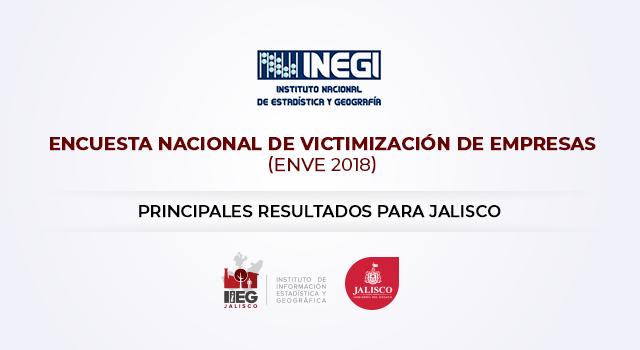 Encuesta Nacional de Victimización de Empresas 2018 Jalisco