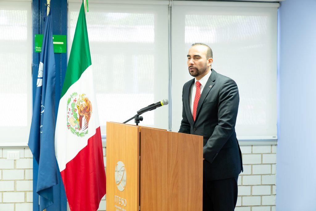 Luis Arriaga, SJ, rector del ITESO.