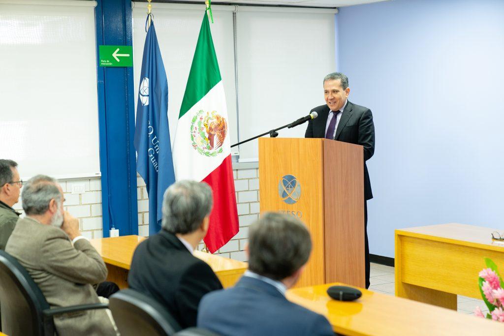 Rogelio Campos, director del Instituto de Información Estadística y Geográfica (IIEG) de Jalisco.