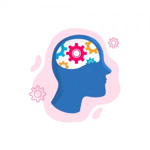 Imagen de un cerebro pensando