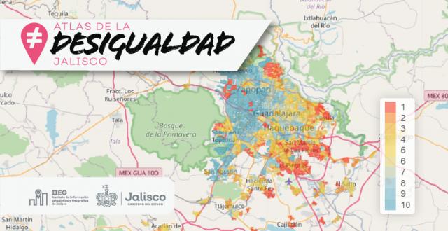 Portada, Atlas de la desigualdad Jalisco